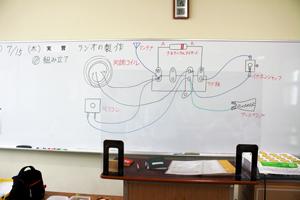 ラジオの実態配線図