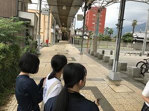 6月15日 生徒にとってはめずらしい、大人にとっては懐かしい…そんな商店街の魅力を伝えたい。