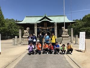 川東地区 八幡神社 夏越さん