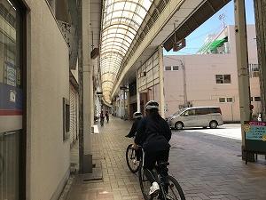 伊予三島の商店街に行ってみました。