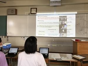 東京大学の大学院生の研究発表を聴くことができました。発表プレゼンはすべて英語です。
